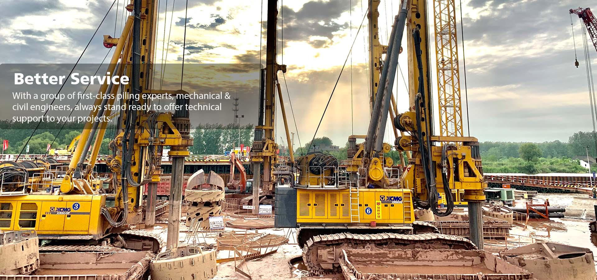kelly bar construction site